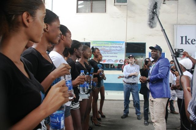 Aquafina's Elite Model Look Nigeria Contestants visit Seven Up - Bellanaija - September2014009