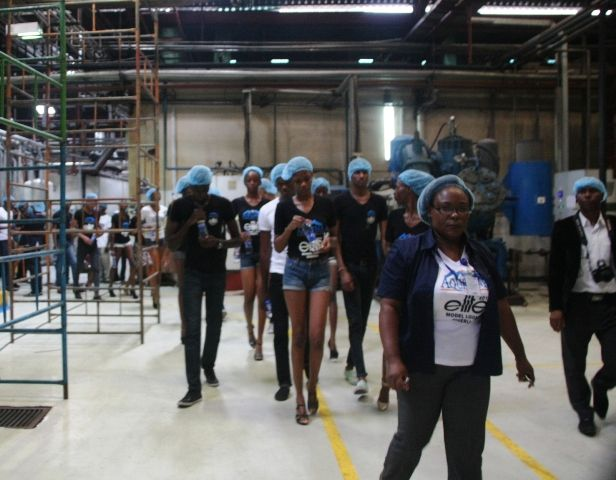 Aquafina's Elite Model Look Nigeria Contestants visit Seven Up - Bellanaija - September2014010