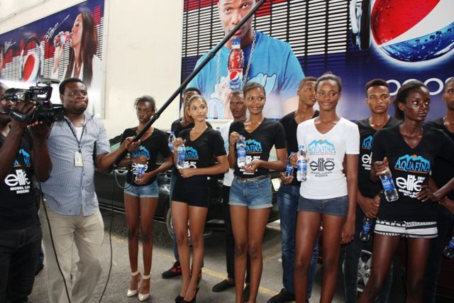 Aquafina's Elite Model Look Nigeria Contestants visit Seven Up - Bellanaija - September2014011