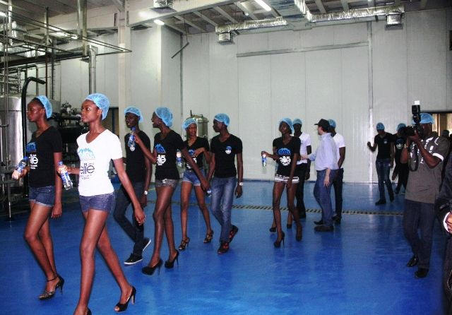 Aquafina's Elite Model Look Nigeria Contestants visit Seven Up - Bellanaija - September2014015