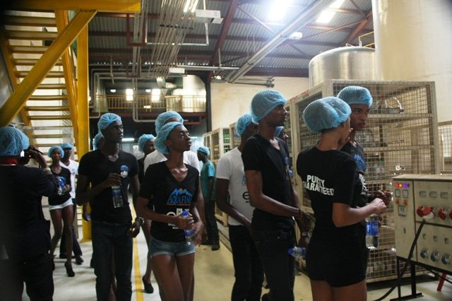 Aquafina's Elite Model Look Nigeria Contestants visit Seven Up - Bellanaija - September2014016