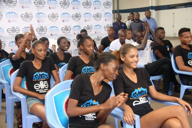 Aquafina's Elite Model Look Nigeria Contestants visit Seven Up - Bellanaija - September2014021