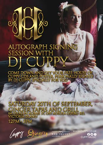 Autograph Signing with DJ Cuppy - Bellanaija - September 2014