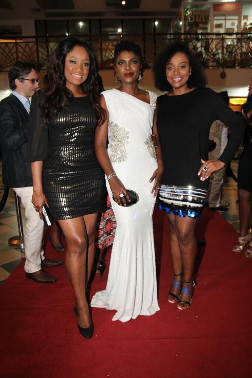 Uru Eke, Omoni Oboli & Michelle Dede