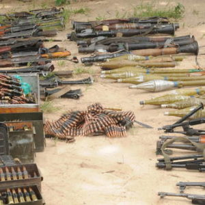 Boko Haram Surrenders Arms BellaNaija