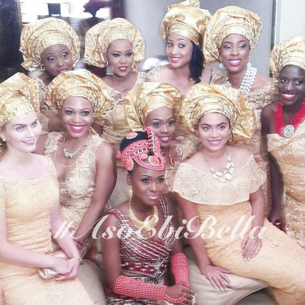 Bride @beautifullynapy aso ebi, asoebi, asoebibella.108