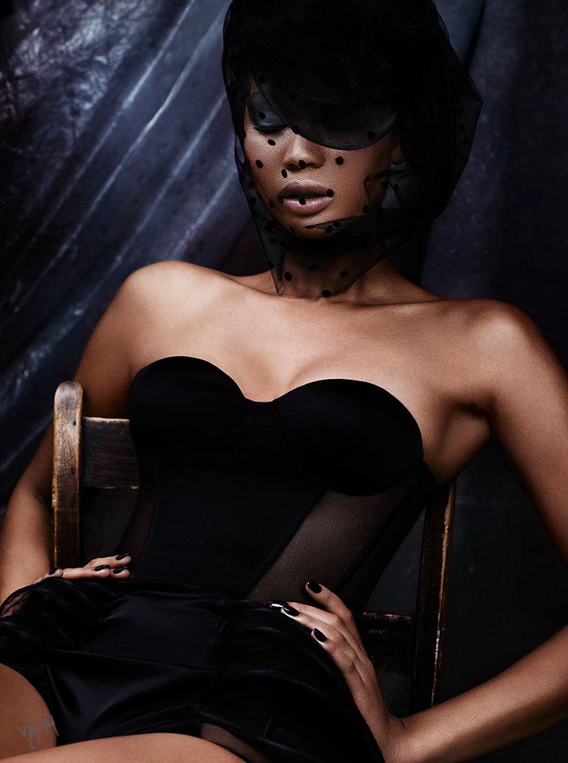 Chanel Iman for Violet Grey Beauty Editorial - Bellanaija - September 2014005