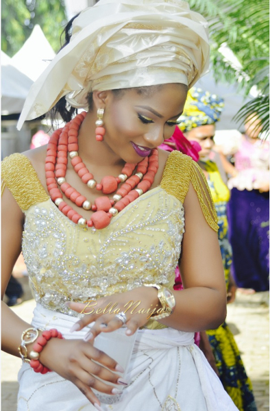 Chisom & Chete Igbo Nigerian Wedding | BellaNaija 2014 - 017