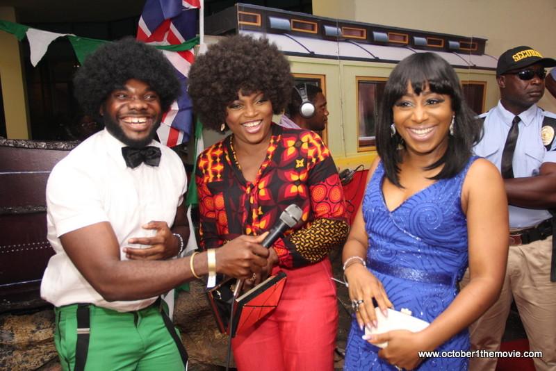 Collins Chukwu, Funke Akindele, Dakore Akande