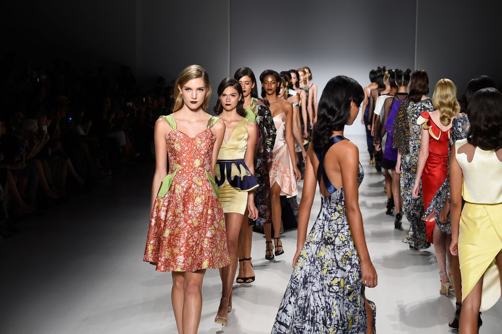 Fashion Show Runway 2015 Fashion Week Spring