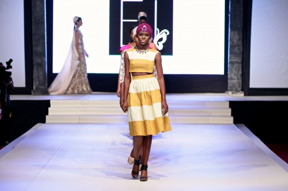 Ejiro Amos Tafiri Showcase Port Harcourt Fashion Week 2014 - Bellanaija - September2014 (17)