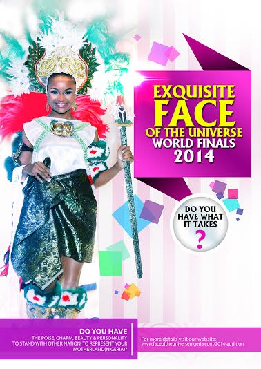 Exquisite Face of the Universe World Finals 2014 - Bellanaija - September 2014