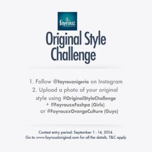 Fayrouz Original Style Challenge - Bellanaija - September2014