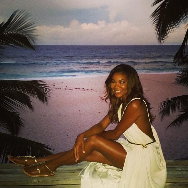 Gabrielle Union & Dwyane Wade's Sweet Honeymoon BN 1