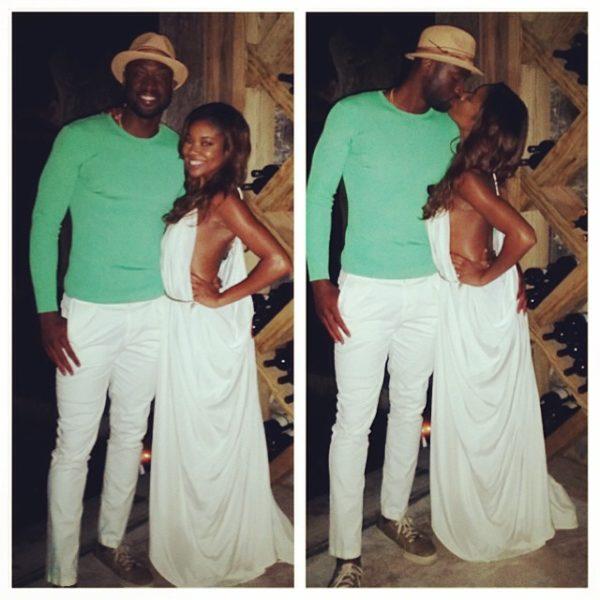 Gabrielle Union & Dwyane Wade's Sweet Honeymoon BN 6