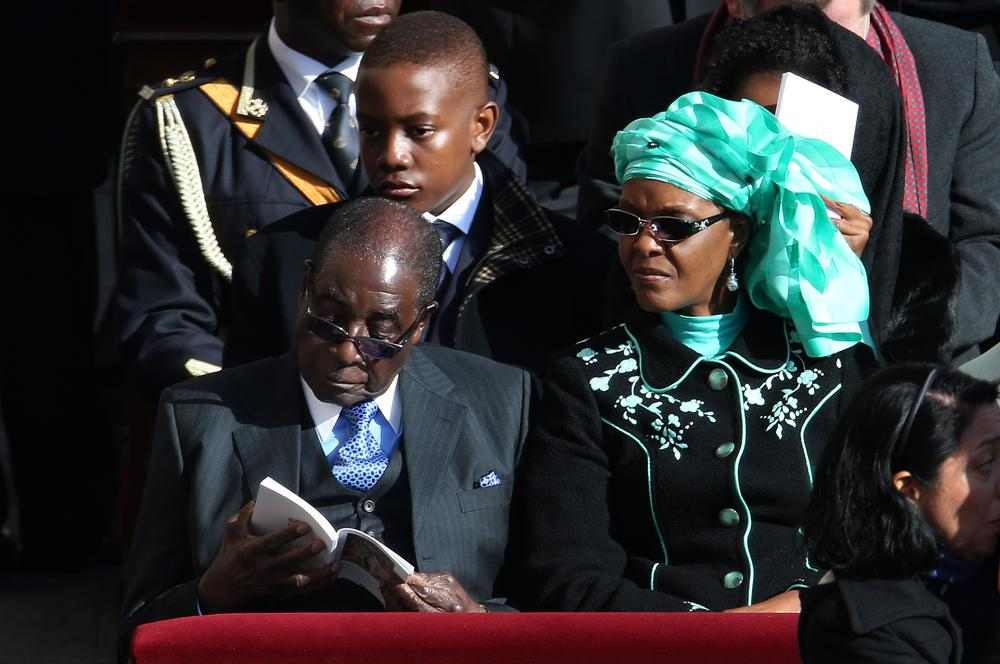 SA Court Kicks Out Diplomatic Immunity for Grace Mugabe in Assault Case