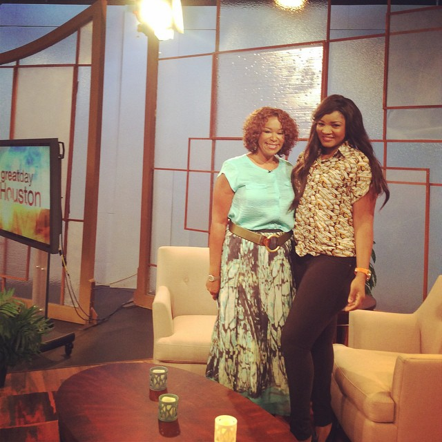Great Day Houston Omotola Jalade-Ekeinde