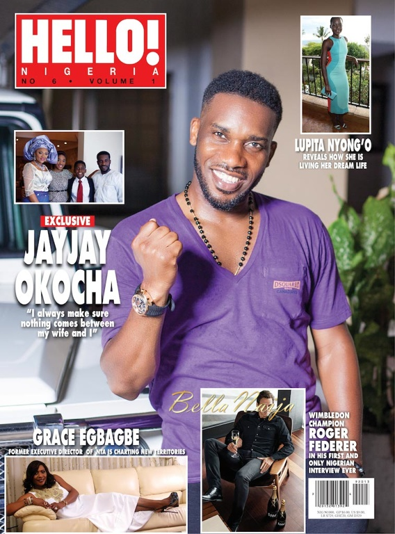 HELLO Nigeria Sept Oct 2014 Okocha BellaNaija 2