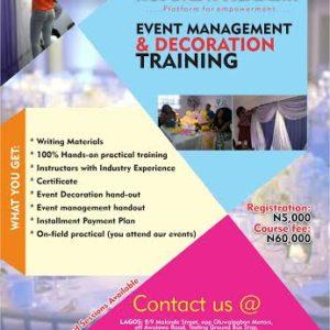 Haven of Imagination Event management & Decoration Training - Bellanaija - September 2014