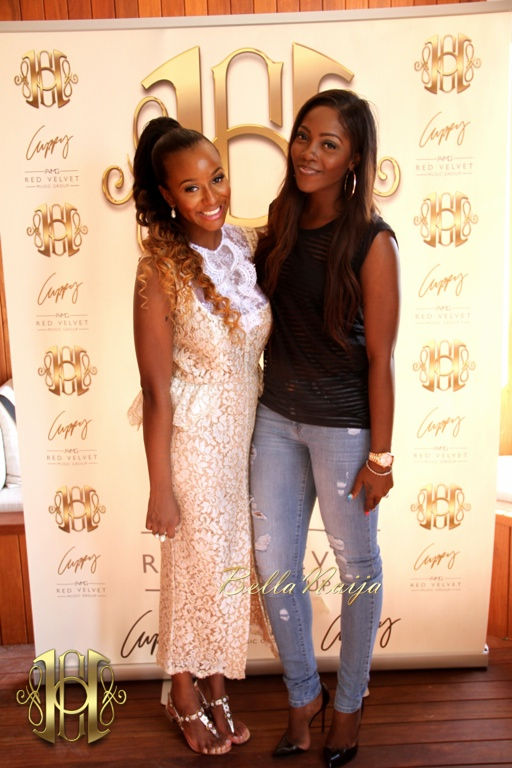 Cuppy & Tiwa Savage