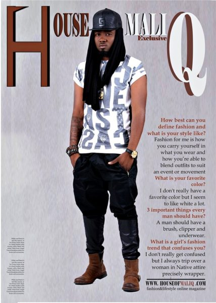 Ice Prince Zamani,September - 2014- Mgazine- Houseofmaliq