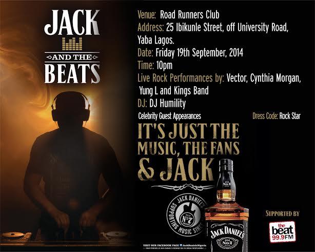 Jack & The Beats - Bellanaija - September 2014