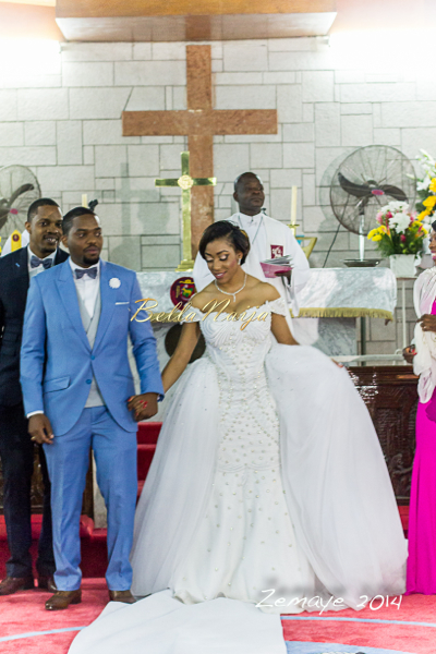 Koko Ita Giwa & Chimaobi White Wedding | Zemaye | BellaNaija 0003