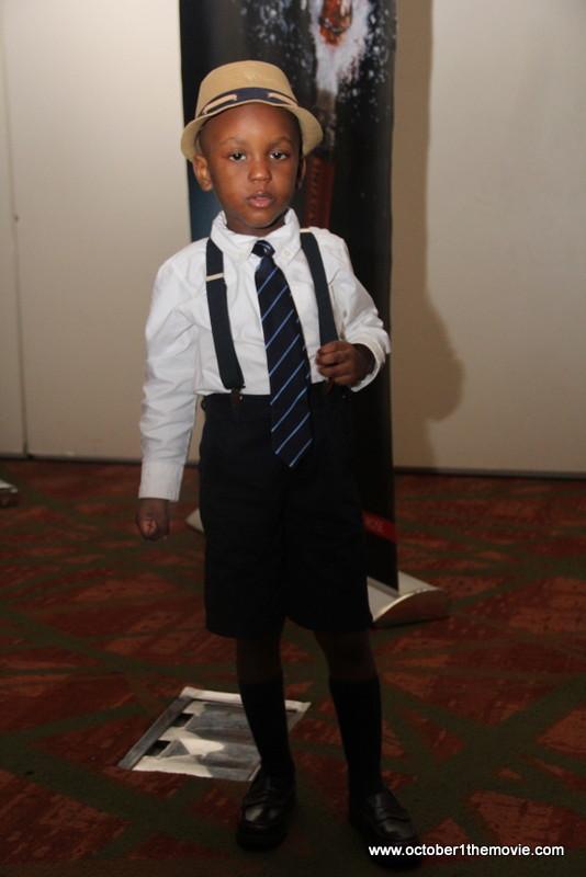 Kunle Afolayan's Son