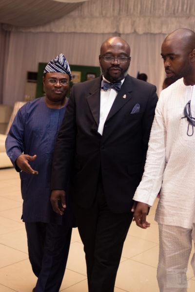 Dr. Leke Pitan, Lucky Idike & Philip Ogunro