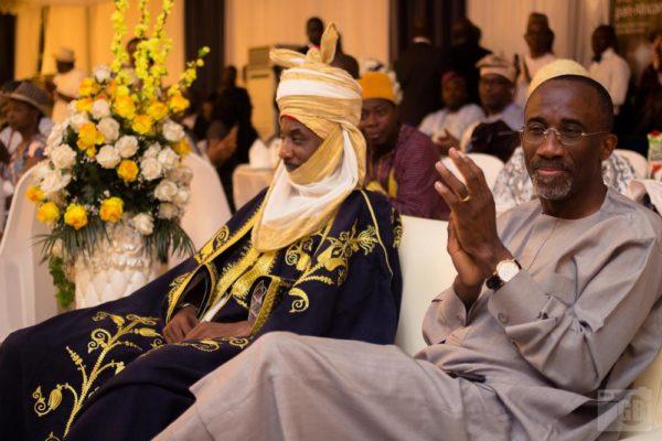 HRH Muhammadu Sanusi II & Hakeem Belo-Osagie