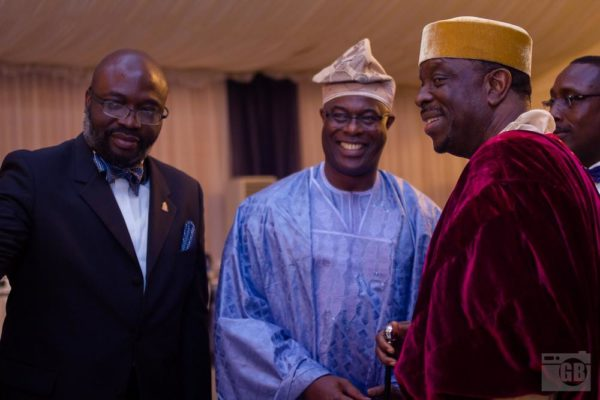 Lucky Idike, Kele Mbagwu & Olor'ogun Dr. S.F. Kuku OFR