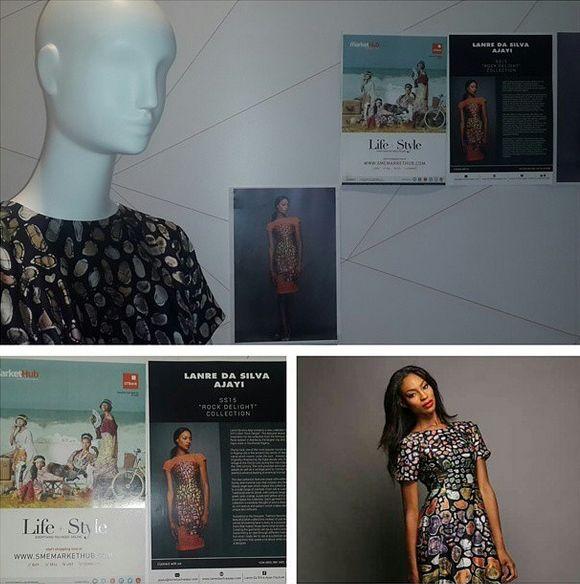 Lanre Da Silva-Ajayi Rock Delight Collection Vogue Talent - Bellanaija - September 2014