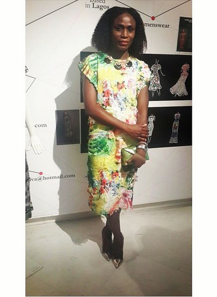 Lanre Da Silva-Ajayi Rock Delight Collection Vogue Talent - Bellanaija - September 2014008