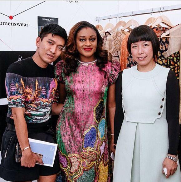Lanre Da Silva-Ajayi Showcase Vogue Talents 2014 - Bellanaija - September 2014
