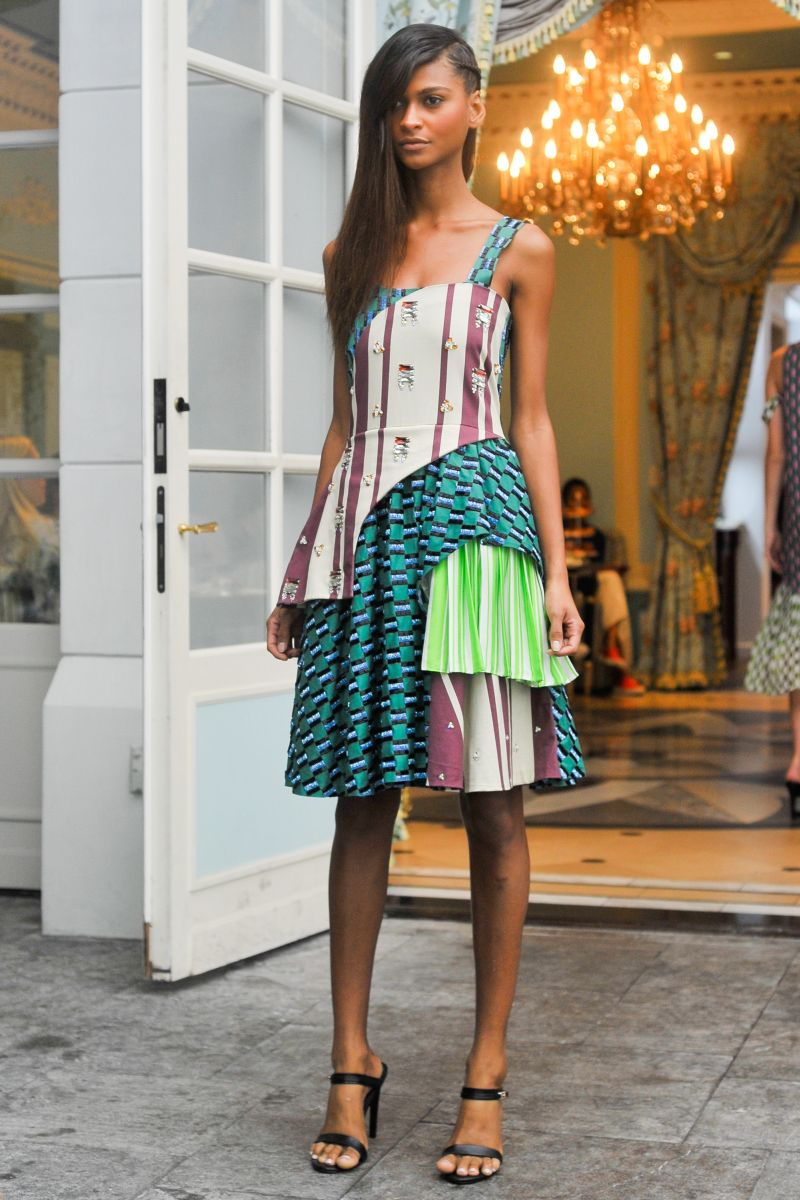Lisa Folawiyo - Presentation - MercedesBenz Fashion Week Spring 2015