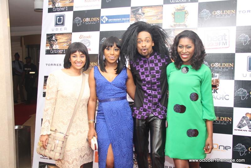 Lola Maja-Okojevoh, Dakore Akande, Denrele Edun & Vimbai