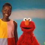 Lupita Nyong'o Elmo