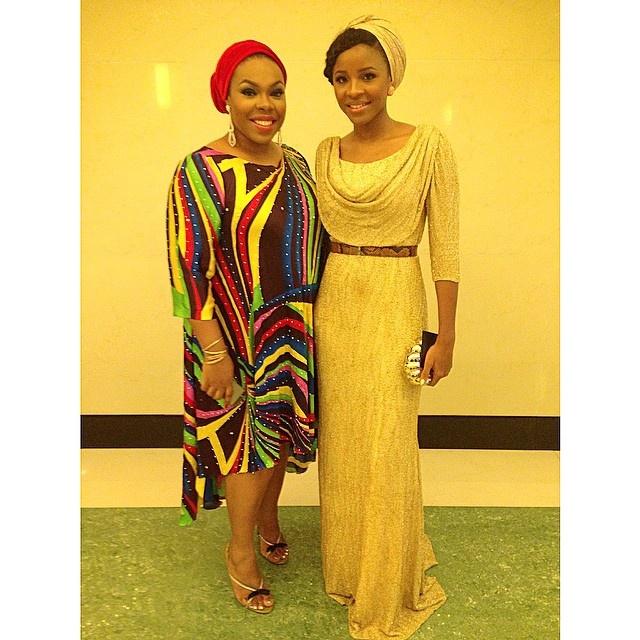 Jasmine Tukur & Aisha Augie-kuta