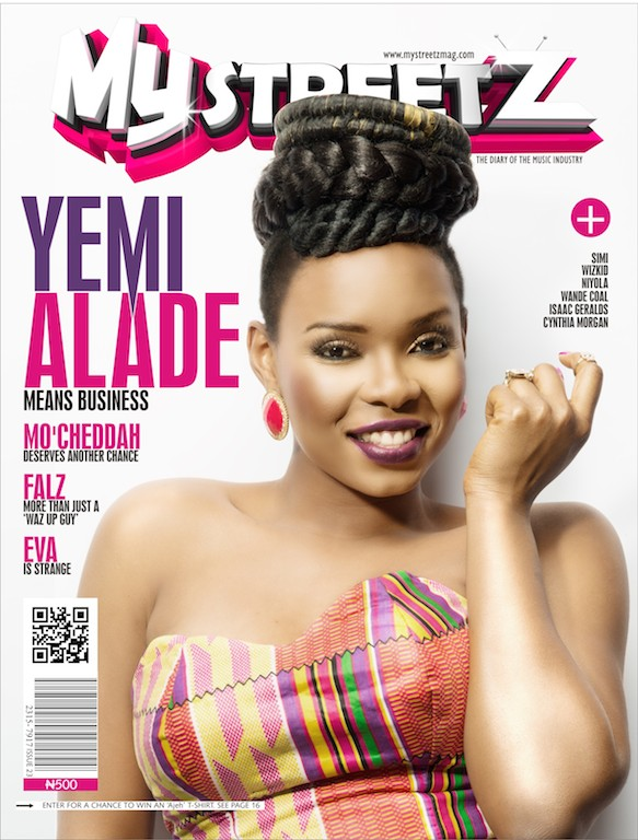 My Streetz Mag Cover 23 - YEMI ALADE
