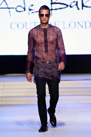 Native & Vogue Port Harcourt Fashion Week: Ade Bakare's Adire ...