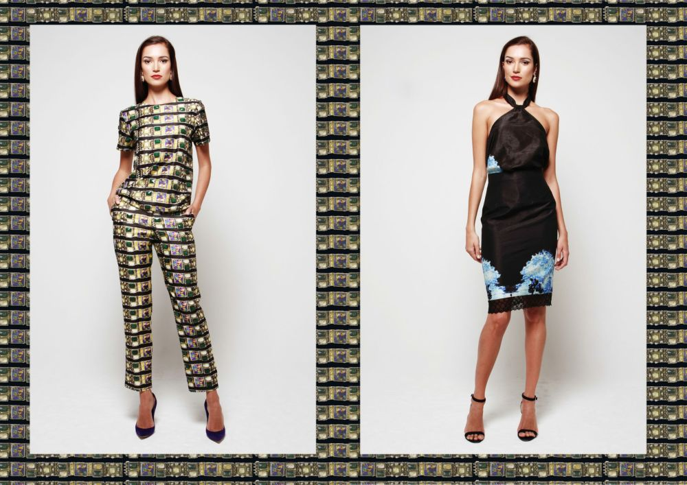 Pearls and Portraits Debut Collection Lookbook & Editorial - Bellanaija - September2014001