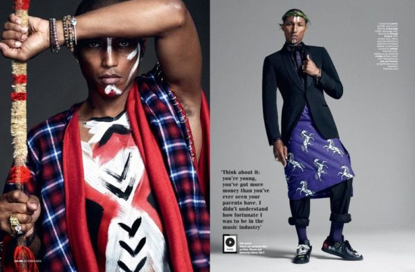 Pharrell Williams for British GQ - bellanaija - September 2014004