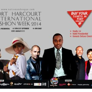 Port Harcourt International Fashion Week 2014