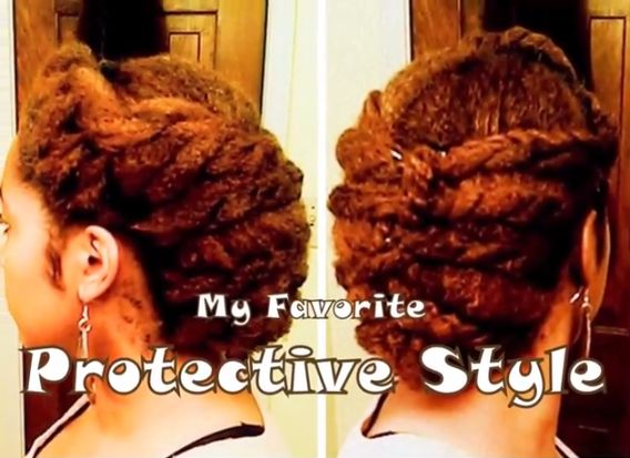 Protective Styling Hairstyles - Bellanaija - September2014