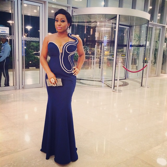 Rita Dominic at the Mo at 50 event