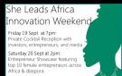 She Leads Africa Innovation Weekend - Bellanaija - September 2014
