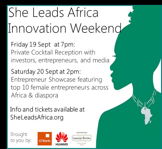 She Leads Africa Innovation Weekend - Bellanaija - September 2014