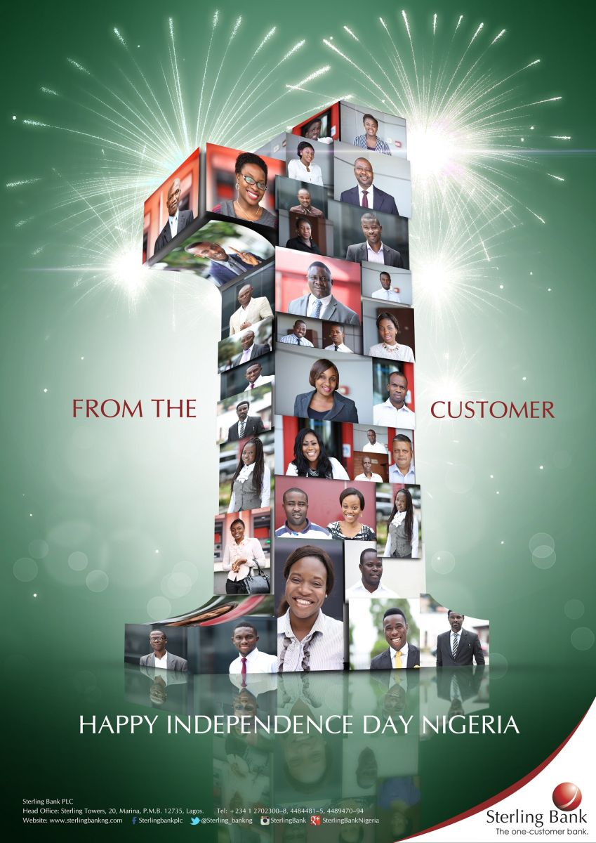 Sterling Bank Customers for Nigerias Independence - Bellanaija - September2014001