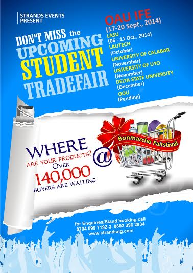 Strands Events OAU Ife Tradefair - Bellanaija - September 2014