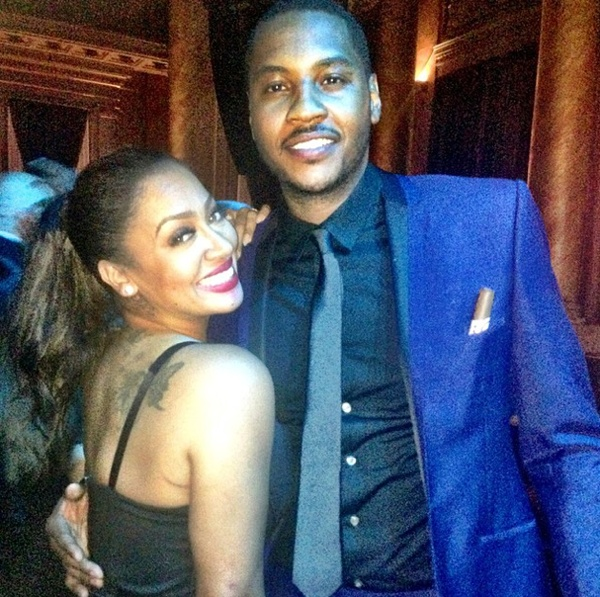 Lala & Carmelo Anthony